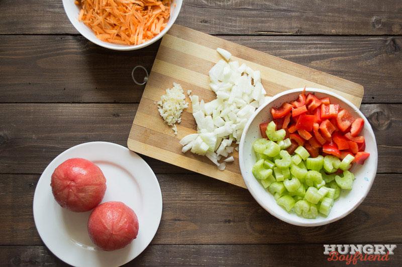 рецепт суп с чечевицей вегетарианский рецепт