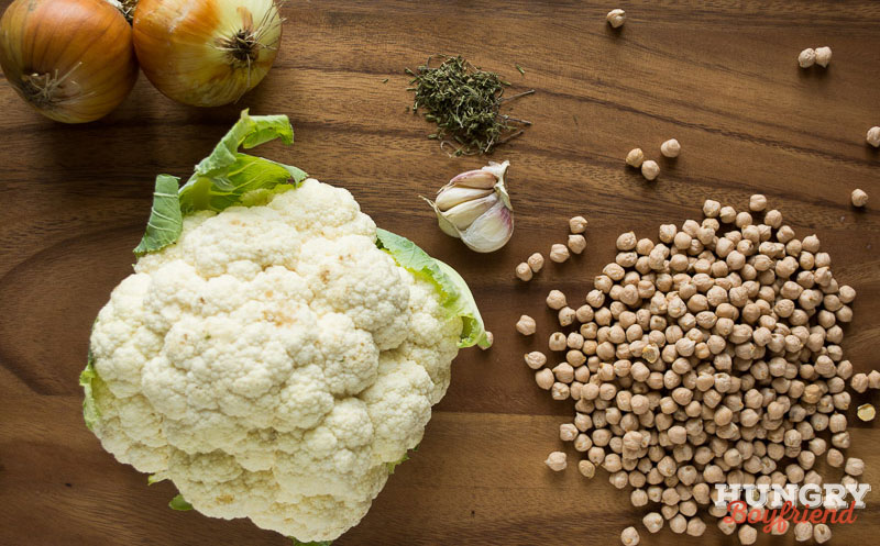 Ингредиенты для супа-пюре