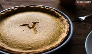 Манговый пирог готов