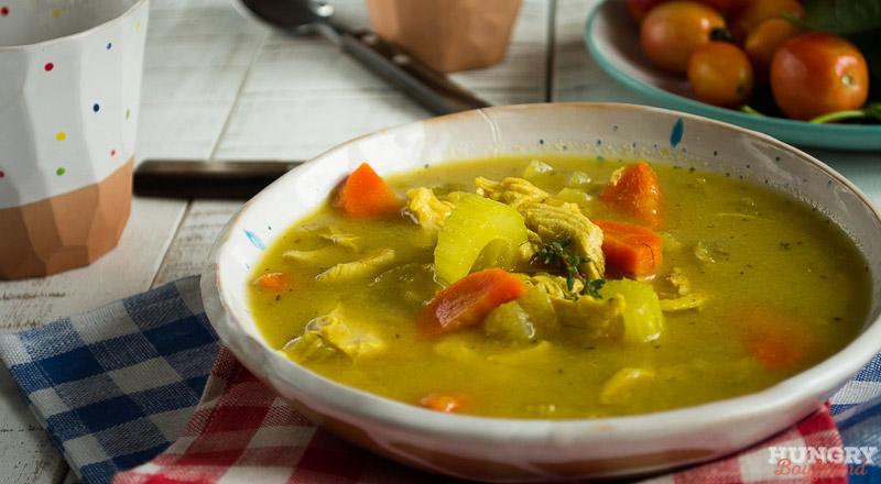 легкий куриный суп в мультиварке рецепт с фото