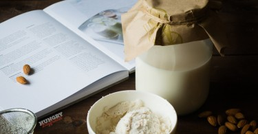 Миндальное молого - рецепт с фото