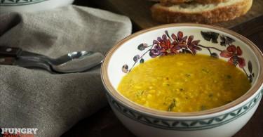 Дал из чечевицы с тыквой - пошаговый рецепт с фото