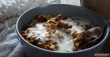 Гранола - пошаговый рецепт с фото