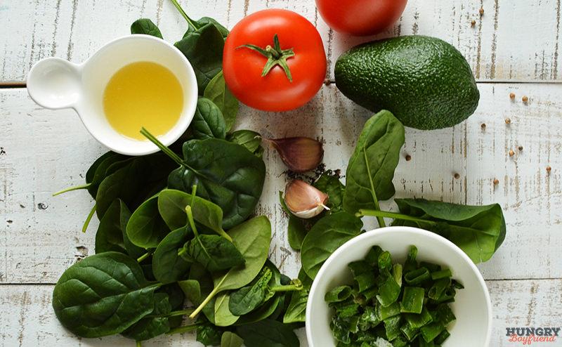 Ингредиенты для гуакамолле