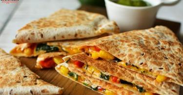 Кесадилья с сыром - пошаговый рецепт с фото