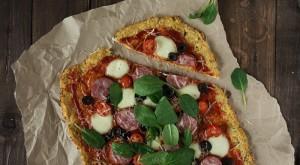 Пицца на основе из цветной капусты - пошаговый рецепт с фото