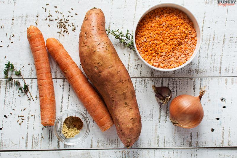 Ингредиенты для супа с бабатом