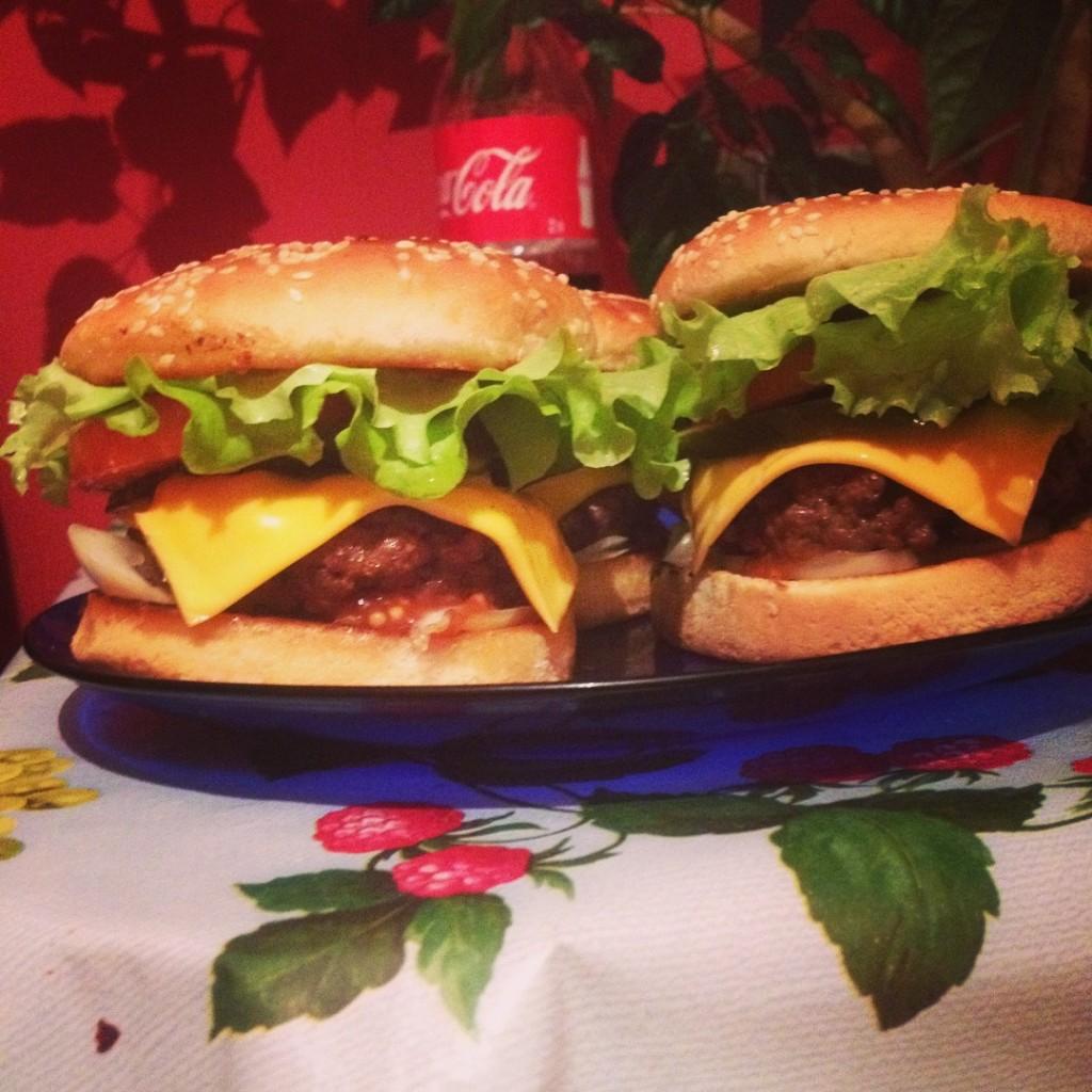 Как сделать свой гамбургер 18