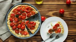 Тарт с рикоттой и помидорами черри - пошаговы рецепт с фото