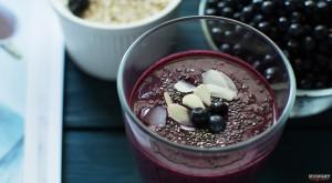 Черничный смузи - пошаговый рецепт с фото