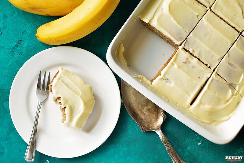 Банановый пирог готов!