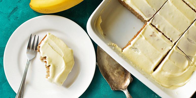 Банановый пирог - пошаговый рецепт с фото