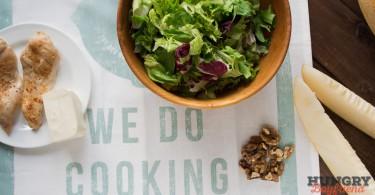 Ингредиенты для салата с дыней