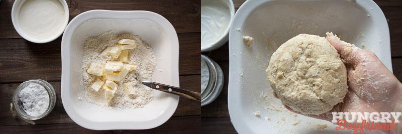 Делаем тесто для галеты