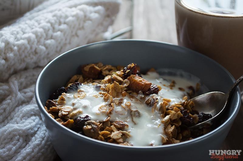 Гранола - отличная идея для завтрака