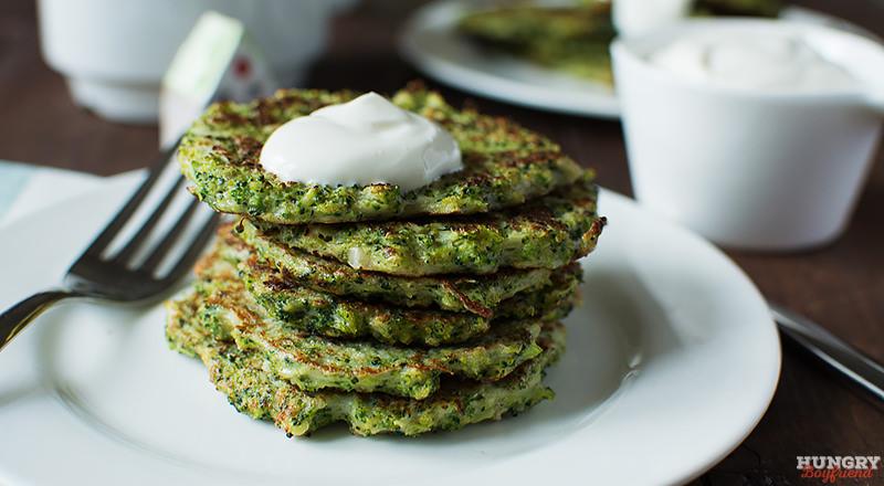Оладьи из брокколи - пошаговый рецепт с фото
